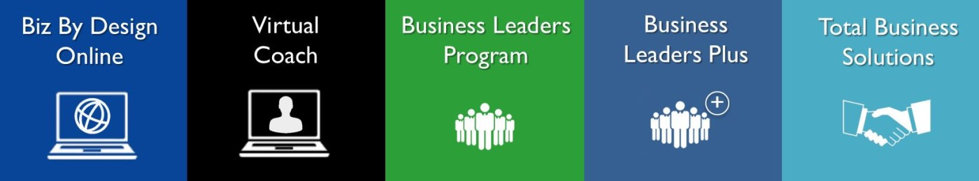 Business By Design Coaching Packages